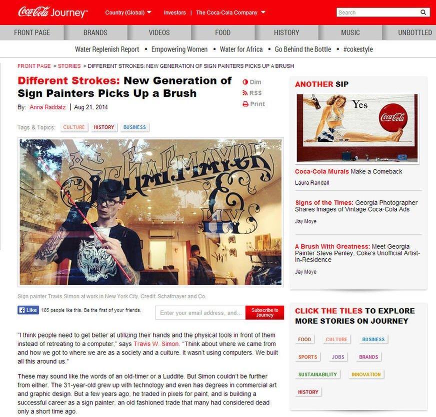 Storytelling in content marketing Coca Cola magazine