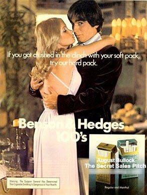 Subliminal advertising Benson & Hedges cigarette ad