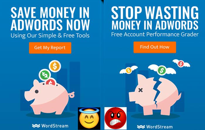testing display ad creative adwords sentiment analysis