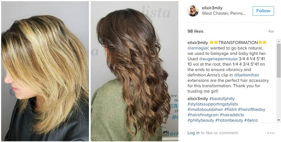 Hair Salon Transformation