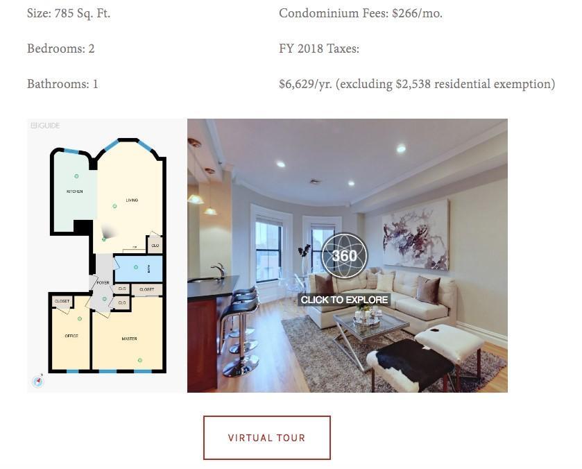 real estate landing page copy