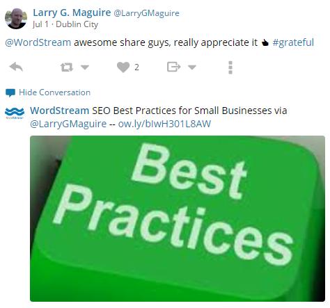 Twitter Best Practices RT