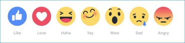 Emoji for Twitter Facebook reactions