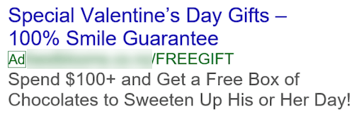 Valentine's Day PPC Plan