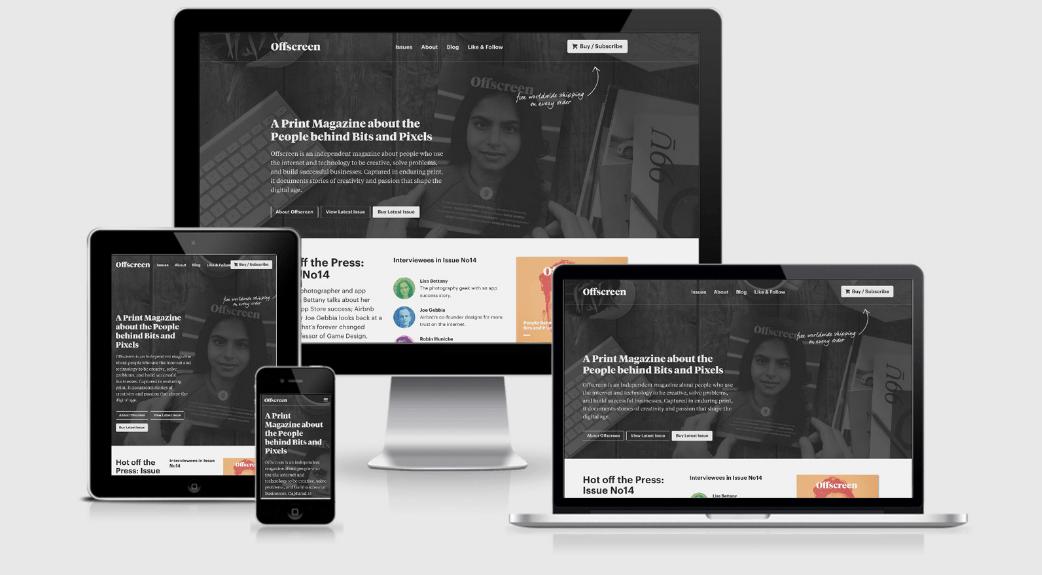 Web design inspiration ResponsiveDesign.is