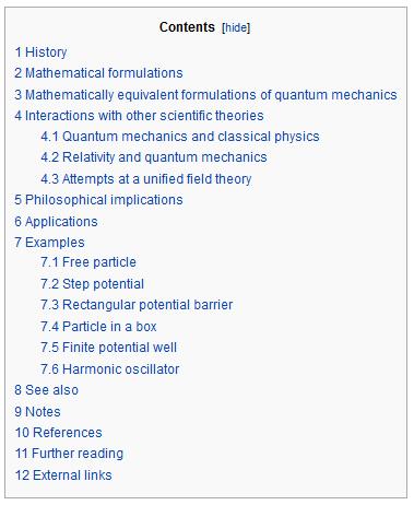 Wikipedia long-tail keywords