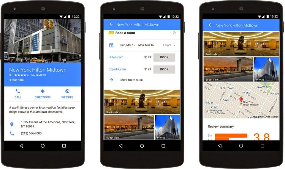 Google AdWords vs Facebook Ads AdWords new hotel ads