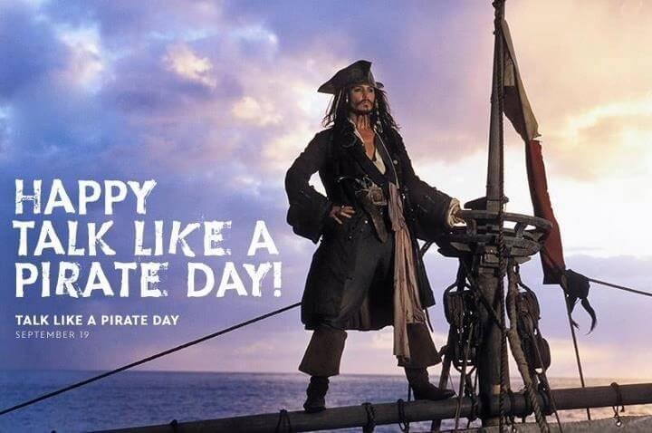 september marketing ideas - talk like a pirate day