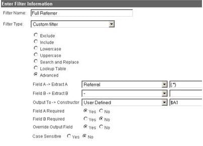 analytics track full referrer             url