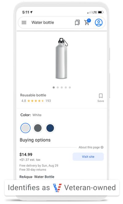 google ads updates september 2021: veteran-owned attribute in google shopping ad