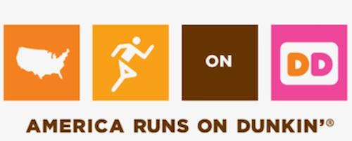 advertising and marketing slogans: america runs on dunkin