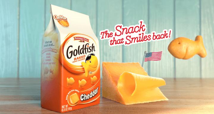 marketing and advertising slogan examples: goldfish